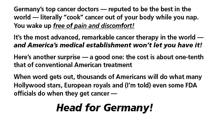 A Guide to German Alternative Cancer Clinics